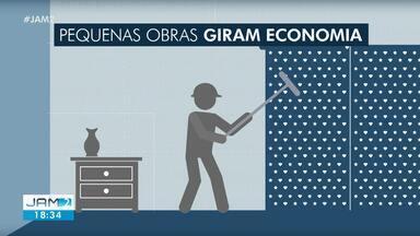 Pequenas reforma em casas durante pandemia ajudam a fomentar economia - Durante isolamento, muita gente optou por fazer pequenas reforças em casa