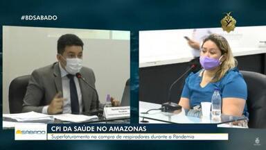 CPI da Saúde no AM denuncia compra de respiradores mais caros durante pandemia - Superfaturamento na compra de respiradores durante pandemia é investigado