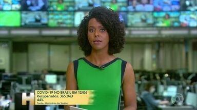 Brasil tem 41.828 mortes por coronavírus, diz Ministério da Saúde - Em 24 horas, foram incluídos 909 registros de morte no balanço.