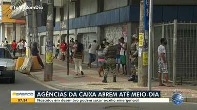 Agências da Caixa Econômica Federal vão funcionar até o meio dia deste sábado - Saiba quais são as unidades que estão funcionando em Salvador.