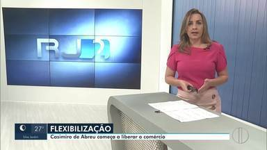 Casimiro de Abreu começa a flexibilização na segunda-feira (15) - Os estabelecimentos que serão autorizados para funcionar deverão seguir regras de restrição.