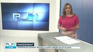 RJ2 Inter TV - edição de sábado, 13/06/2020 - Jornal traz as principais notícias das regiões dos Lagos, Serrana, Norte e Noroeste Fluminense.