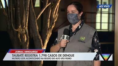 Com 1,7 mil casos, Taubaté faz mutirão contra dengue - Confira as informações no link.