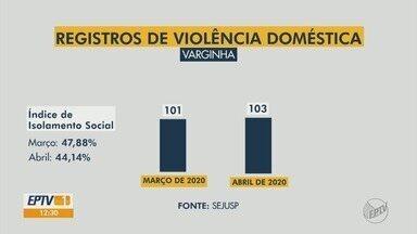 Isolamento pode ser um dos motivos de subnotificação de denúncias de violência doméstica - Veja números do Sul de MG