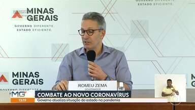 Romeu Zema fala sobre compra de respiradores com recursos de ação contra a Samarco - A ação judicial contra a mineradora e suas controladoras, Vale e BHP Billiton, se refere ao rompimento da barragem em Mariana, em 2015.