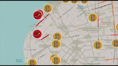 Quadro 'Radar' mostra a movimentação do trânsito em Belém - Quadro 'Radar' mostra a movimentação do trânsito em Belém