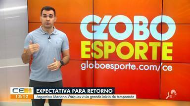 Confira as notícias do esporte desta terça-feira (16) com Marcos Montenegro - Saiba mais no g1.com.br/ce