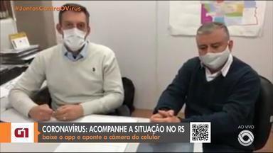 Prefeitos da Serra tentam convencer governo do RS a alterar bandeira da região - Cidades foram classificadas como risco alto para o coronavírus no distanciamento controlado.