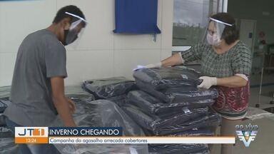 Campanha do agasalho arrecada cobertores em Pariquera-Açu - Perto do inverno, campanha tem mudanças em período de pandemia.