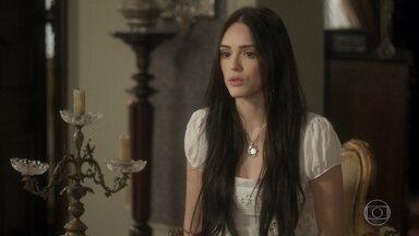 Anna pede ajuda de Liu para fugir - A esposa de Thomas pergunta se a ama concorda em ir embora junto com ela e Vitória