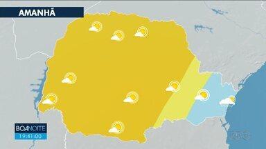 Confira a previsão do tempo para esta quarta-feira em todo o estado - Outono termina com tempo seco.