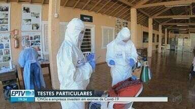 ONGs e empresas investem em exames particulares para Covid-19 - Testes ajudam a dimensionar a real situação da doença na região.