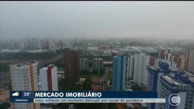 Mercado imobiliário enfrenta momento delicado por conta da pandemia - Mercado imobiliário enfrenta momento delicado por conta da pandemia