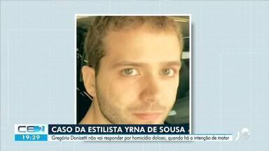 Justiça decide que empresário Gregório Donizetti vai responder por homicídio culposo - Saiba mais em g1.com.br/ce