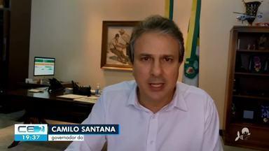 Governador anuncia prorrogação da isenção da conta de água por mais 2 meses - Saiba mais em g1.com.br/ce