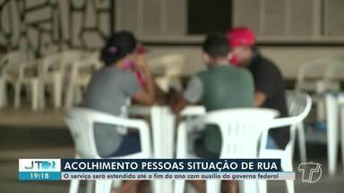 Veja o balanço de atendimentos realizados a pessoas em situação de rua em meio a pandemia - Em Santarém, pessoas estão sendo atendidas na sede do Panterão há dois meses.
