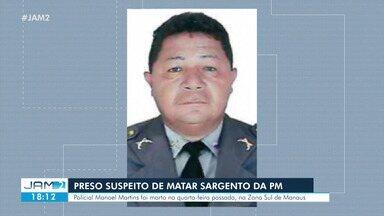 Suspeito de matar sargento com 14 tiros é preso em Manaus - Suspeito de matar sargento com 14 tiros é preso em Manaus