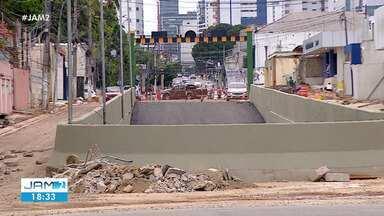 Obra da Avenida Constantino Nery, em Manaus, entra na fase final - Obra da Avenida Constantino Nery, em Manaus, entra na fase final