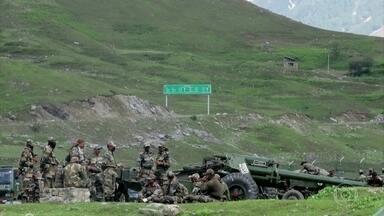 Confronto na fronteira da China e Índia deixa dezenas de mortos - É a primeira vez que tensões naquela região da fronteira acabam em mortes em 45 anos. A Índia fala em mortes, mas a China nega.