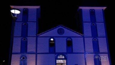 Com mais de 100 anos de história, Matriz de Trindade reabre após restauração - Obras duraram sete meses.