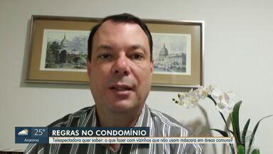 Advogado esclarece dúvidas de moradores de condomínios sobre a Covid-19 em Ribeirão Preto - Perguntas foram enviadas pelos telespectadores pela #EPTV1 no Twitter.