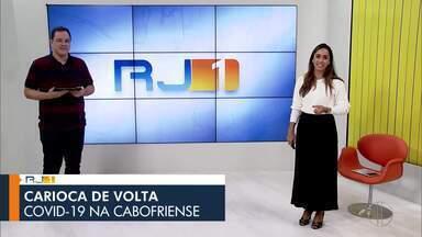 Veja a íntegra do RJ1 desta quarta-feira, 17/06/2020 - O jornal da hora do almoço traz informações sobre as regiões dos Lagos, Serrana, Norte e Noroeste Fluminense.
