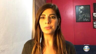 Andréia Sadi: Wassef falou que não sabia de Queiroz em setembro - Advogado disse em entrevista ao programa Em Foco, de Andréia Sadi, que não sabia onde estava Fabrício Queiroz.