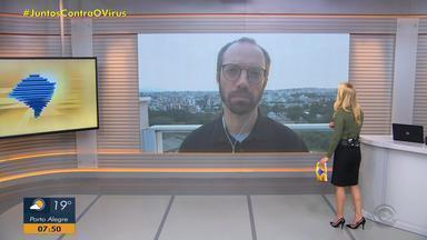 Daniel Scola comenta demora do INSS na liberação de benefícios no RS - Assista ao vídeo.