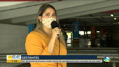 Confira os canais de agendamento de consultas para gestantes em Aracaju - Confira os canais de agendamento de consultas para gestantes em Aracaju.