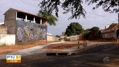 Obra na Galeria do Bacarim é concluída em Presidente Prudente - Cratera foi fechada.