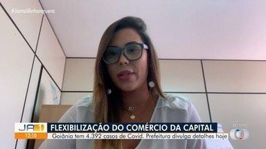 Goiânia discute flexibilização em meio a aumento de casos de Covid - Já são mais de 4 mil casos na cidade.