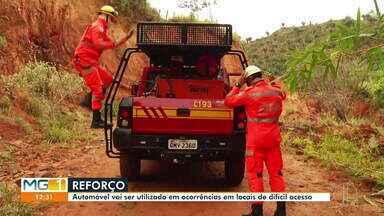 Bombeiros de Governador Valadares contam com nova ajuda para ocorrências - Caminhonete vai ajudar em ocorrências em locais de difícil acesso.
