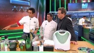 Chefs preparam pratos com inhame, chuchu e nabo - Confira!