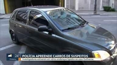 Polícia apreende carros de dois suspeitos no caso da morte do adolescente Guilherme - Investigadores estiveram em vários endereços ligados ao caso.
