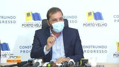 Jornal de Rondônia 1ª Edição | Prefeito de Porto Velho desabafa em ...