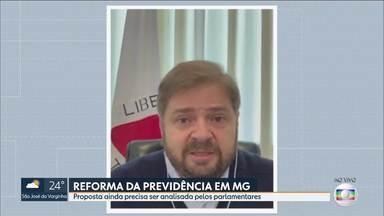 Proposta da reforma da previdência precisa ser analisada pelos parlamentares - Governador Romeu Zema (Novo) entregou projeto da Reforma da Previdência à Assembleia.