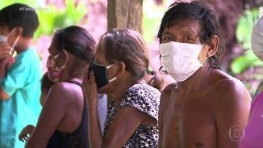 Força-tarefa leva socorro à região com mais índios infectados pelo coronavírus - Fantástico acompanhou uma missão do Greenpeace a uma das regiões com o maior número de indígenas mortos e infectados pela Covid-19, na Amazônia.