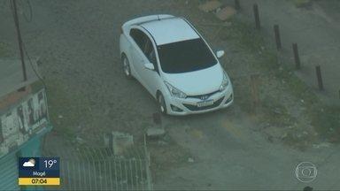 Globocop flagra carro roubado circulando no Complexo do Chapadão - Um veículo circulando no Complexo do Chapadão foi registrado pelo Globocop e segundo registros do Denatran, o carro é roubado.