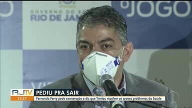 Coronel médico do Corpo de Bombeiros será o novo secretário de Estado de Saúde do RJ - Alex Bousquet substitui Fernando Ferry, que anunciou sua saída do cargo nesta segunda-feira.
