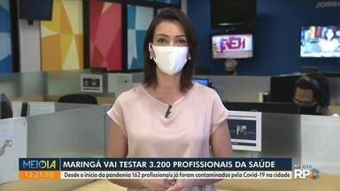 Maringá tem sete vezes mais casos de Covid-19 que o número oficial - Conclusão é de pesquisa feita por universidades, em parceria com o município.