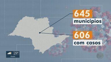 Covid-19: cidades do interior de SP registram mais novos casos que a capital - Essa é a primeira vez que isso acontece.