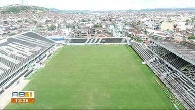 Central adia reapresentação e diz que atraso não será problema - Patativa informou mudança é para o clube adequar a estrutura do estádio Lacerdão.