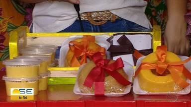 Comerciantes usam a criatividade e vendem kits juninos - Comerciantes usam a criatividade e vendem kits juninos.