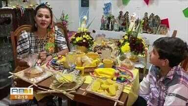 Famílias de Garanhuns se organizam para manter tradição junina viva - Pandemia mudou a forma de festejar.