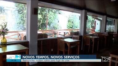 Restaurantes de São Luís mudam rotina para fugir da crise - Com as portas fechadas para os clientes, o jeito é apostar no serviço de tele-entrega.