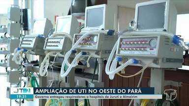 Kits de respiradores são entregues aos municípios do oeste do Pará - Confira na reportagem.