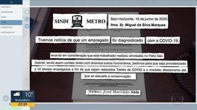 Estação Eldorado, em Contagem registra movimento nesta quarta-feira - Metroviários anunciam escala mínima de funcionamento.
