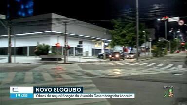 Avenida Desembargador Moreira terá trecho bloqueado para novas obras - Saiba mais em g1.com.br/ce