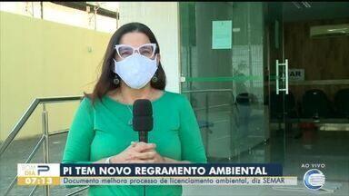 Secretaria de Meio Ambiente aprova novo regramento ambiental para o Piauí - Secretaria de Meio Ambiente aprova novo regramento ambiental para o Piauí