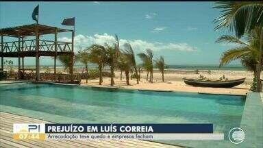 Pandemia e isolamento social levam efeitos graves à economia do litoral do Piauí - Pandemia e isolamento social levam efeitos graves à economia do litoral do Piauí